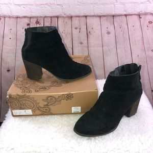 Ecote Black Booties By Urban Outfitters